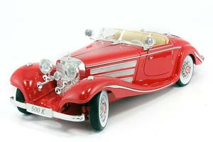 MERCEDES 500 K 1936 RED