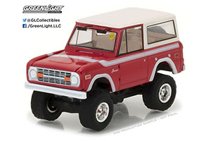 FORD BRONCO 4X4 1975 RED/WHITE