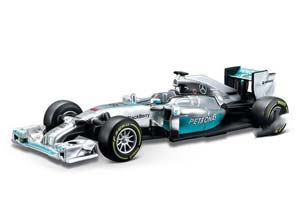 Mercedes AMG Petronas W05 Hybrid #6 N.Rosberg Formula 1 2014
