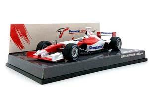 TOYOTA PANASONIC TF102 PROMOTIONAL SHOWCAR 2002 LIMITED EDITION 8002 PCS.