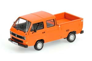 VW VOLKSWAGEN T3 DOKA-PRITSCHE 1983 ORANGE *ФОЛЬКСВАГЕН ФОЛЬЦВАГЕН