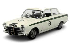 LOTUS CORTINA MK1 6th BRANDS HATCH 1964 #19