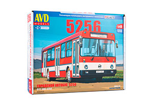 MODEL KIT LIKIN BUS 5256 (USSR RUSSIAN BUS) | СБОРНАЯ МОДЕЛЬ ЛИКИНСКИЙ АВТОБУС 5256