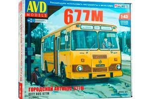 MODEL KIT CITY BUS LIAZ-677M (USSR RUSSIA) | СБОРНАЯ МОДЕЛЬ ГОРОДСКОЙ АВТОБУС ЛИАЗ-677М *СБОРНАЯ МОДЕЛЬ