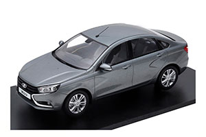 VAZ LADA VESTA (RUSSIAN CAR) 2020 GREY METALLIC   ВАЗ ЛАДА ВЕСТА GREY METALLIC