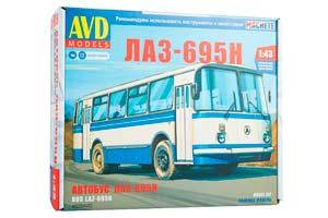 MODEL KIT BUS LAZ-695N (USSR RUSSIA) | СБОРНАЯ МОДЕЛЬ ЛАЗ-695Н *СБОРНАЯ МОДЕЛЬ