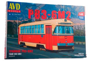 MODEL KIT TRAM RVZ-6M2 (USSR RUSSIA) | СБОРНАЯ МОДЕЛЬ ТРАМВАЙ РВЗ-6М2 *СБОРНАЯ МОДЕЛЬ