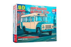 MODEL KIT KAVZ-3270 (USSR RUSSIAN CAR) | СБОРНАЯ МОДЕЛЬ КАВЗ-3270