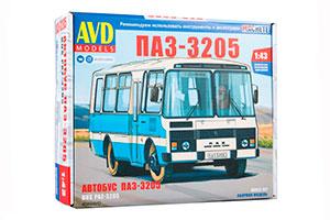 MODEL KIT PAZ-3205 SUBURBAN (USSR RUSSIAN BUS) | СБОРНАЯ МОДЕЛЬ ПАЗ-3205 ПРИГОРОДНЫЙ