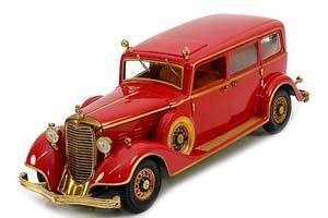 CADILLAC DELUXE TUDOR LIMOUSINE 8C LAST EMPEROR OF CHINA 1932 DARK RED *КАДИЛАК КАДИЛЛАК КЭДИ