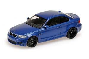 BMW 1ER M COUPE 2011 BLUE METALLIC *БМВ БИМЕР БУМЕР