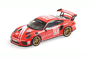 PORSCHE 911 (991.2) GT3RS 2019 INDISCHROT GETSPEED RACE TAXI *ПОРШЕ ПОРШ