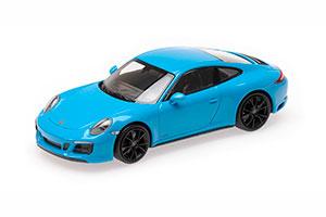 PORSCHE 911 (991.2) CARRERA 4GTS 2017 BLUE