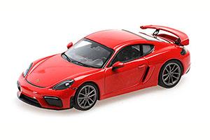 PORSCHE 718 CAYMAN GT4 (982) 2020 RED