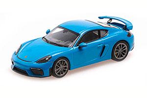 PORSCHE 718 CAYMAN GT4 (982) 2020 BLUE
