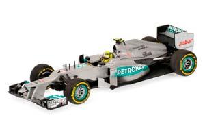 MERCEDES AMG PETRONAS F1 TEAM W03 ROSBERG 2012