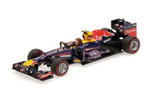 Red Bull Racing RB9 Final GP Brazil 2013 Red Bull Webber Limited Edition 1008 pcs.