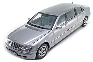 Mercedes W220 S600 Pullman 2005 Silver