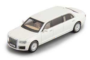 AURUS SENAT LIMOUSINE L700 (RUSSIAN GOVERNMENT CAR) 2020 WHITE | АУРУС СЕНАТ ЛИМУЗИН УДЛИННЕННЫЙ *АУРУС
