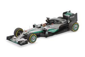 Mercedes AMG Petronas Formula One Team F1 W07 Hybrid Lewis Hamilton Winner Abu Dhabi GP 2016