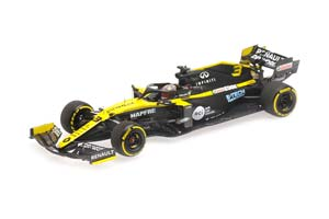 RENAULT DP WORLD F1 TEAM R.S.20 DANIEL RICCIARDO 2020 SEASON LAUNCH EDITION *РЕНО
