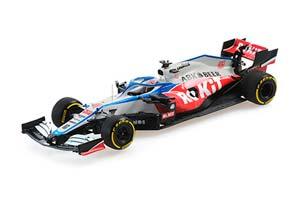 WILLIAMS ROKIT RACING MERCEDES FW43 NICHOLAS LATIFI 2020 LAUNCH SPEC