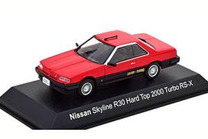 NISSAN SKYLINE HARD TOP 2000 TURBO RS-X (R30) 1983 RED