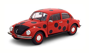 VW KÄFER 1303 MARIENKAEFER RED/BLACK