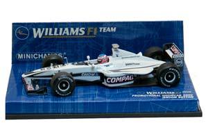 WILLIAMS BMW SHOWCAR BUTTON 2000