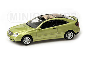 MERCEDES C-CLASS SPORTS COUPE CL203 2001 GREEN MET. *BENZ BENC МЕРСЕДЕС БЕНС МЕРСИДЕС МЕРСЕДЕЗ БЕНЦ