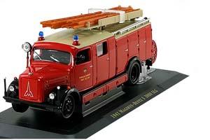 Magirus-Deutz S 3000 SLG Freiwillige Fire Truck Neu-Ulm 1941 Red/Black