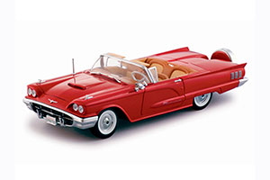 FORD THUNDERBIRD OPEN CONVERTIBLE 1960 RED