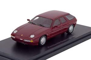 PORSCHE 928 H50 CONCEPT CAR 1987 METALLIC DARK RED *ПОРШЕ ПОРШ