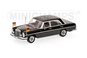 MERCEDES W109 300 SEL 6.3 WILLY BRANDT WITH FIGURINE 1970 BLACK *BENZ BENC МЕРСЕДЕС БЕНС МЕРСИДЕС МЕРСЕДЕЗ БЕНЦ