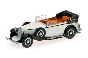 Maybach Zeppelin Cabriolet 1932 White/Black