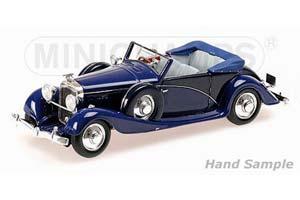 Hispano Suiza J12 Cabriolet 1935 Blue