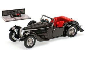 BUGATTI TYPE 57C CORSICA ROADSTER 1938 BLACK