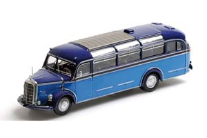 MERCEDES O 3500 BUS 1950 LIGHT BLUE/DARK BLUE