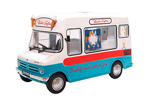 BEDFORD CF ICE CREAM VAN MISTER SOFTEE 1975 *БЭДФОРД