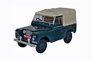 LAND ROVER SERIES II SWB SOFT TOP
