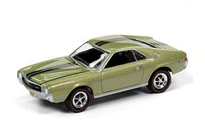 AMC AMX LAUREL GREEN METALLIC 1968