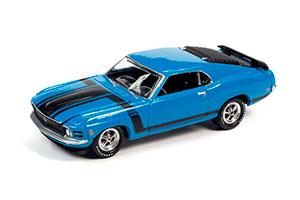 FORD MUSTANG BOSS 302 GRABBER BLUE 1970
