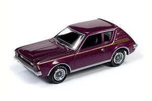 AMC GREMLIN X PURPLE METALLIC 1971