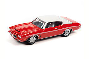 PONTIAC GTO CARDINAL RED 1972