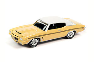PONTIAC GTO MONARCH YELLOW 1972