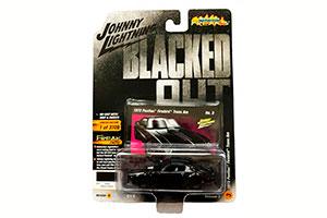 PONTIAC FIREBIRD BLACK BLACKED OUT 1973