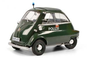 BMW ISETTA EXPORT POLIZEI 1955 GREEN LIMITED 1000 *БМВ БИМЕР БУМЕР