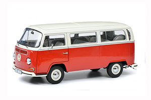 VW VOLKSWAGEN T2 T2A BUS L 1967 RED/BEIGE *ФОЛЬКСВАГЕН ФОЛЬЦВАГЕН
