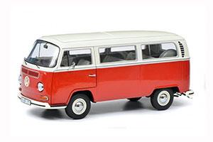 VW VOLKSWAGEN T2 T2A BUS L 1967 RED/BEIGE