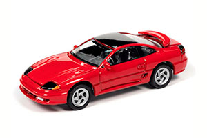 DODGE STEALTH R/T TWIN TURBO RED 1991